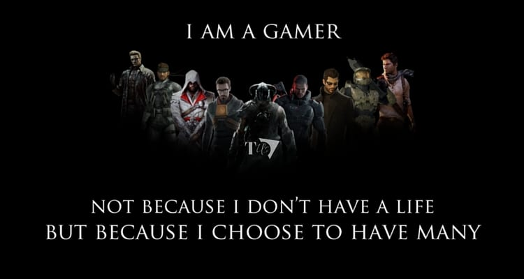 I Am A Gamer Not Because I Dont Have A Life Wallpaper