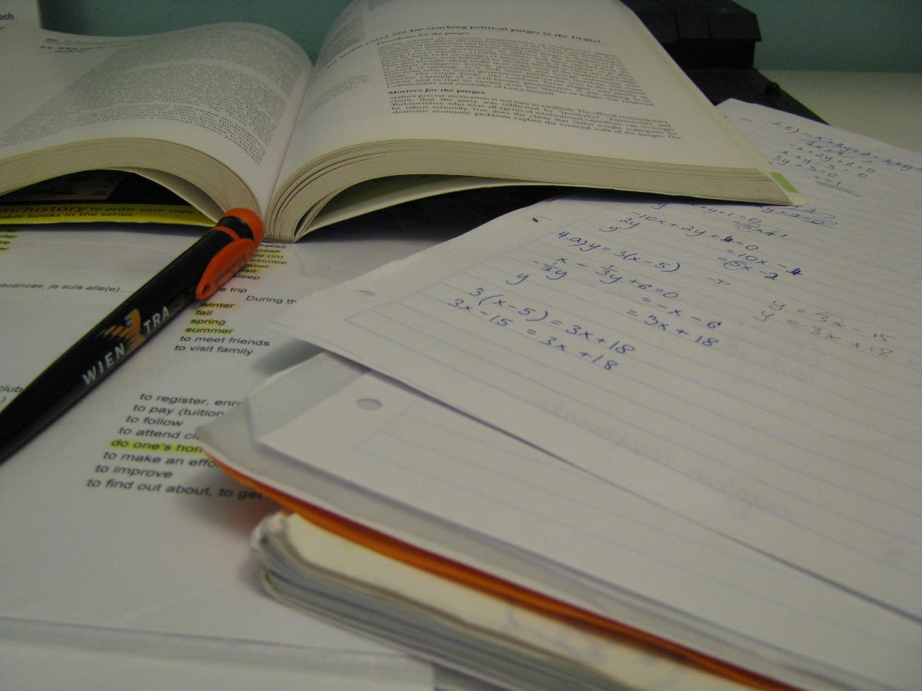 Study when time is short