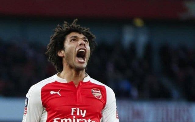 Mohamed Elneny Arsenal Debut Trending Us 2 Leader