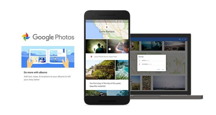 Google photos with smart albums_mini