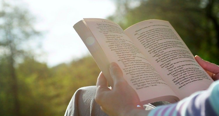 Reading on vacations