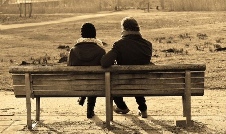 Men And Women talking with Each Other Overcome Sadness