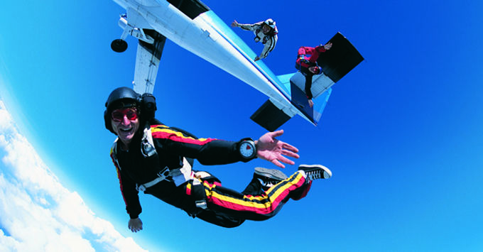 Trending Us sky diving - why hard work is important