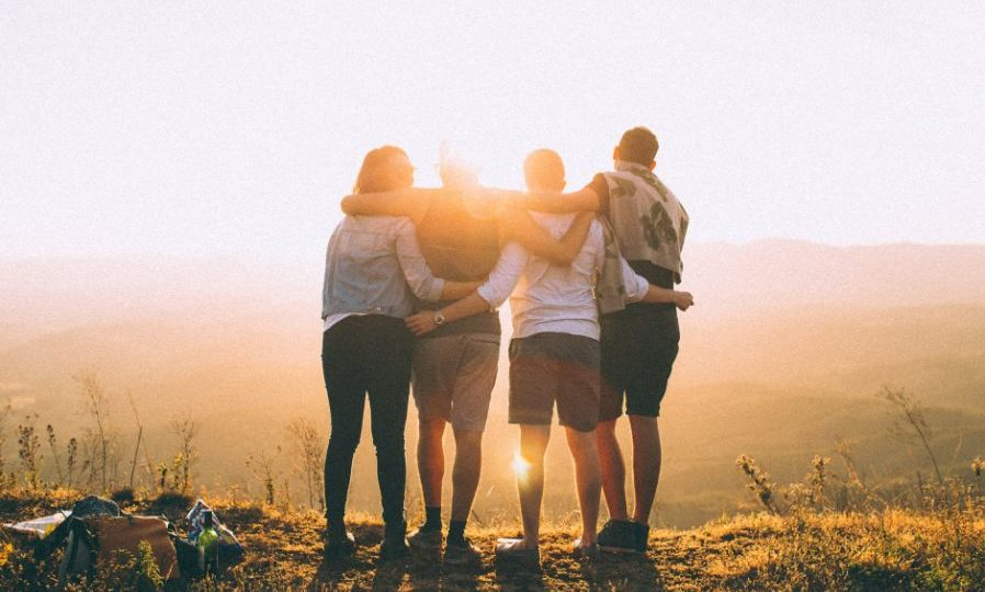 Group Of Friends Understand What Others Feel