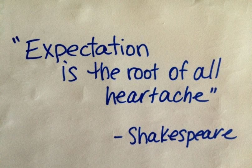 Quotes On Expectations   Build High Self Esteem