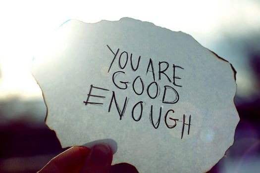 accept that you are good