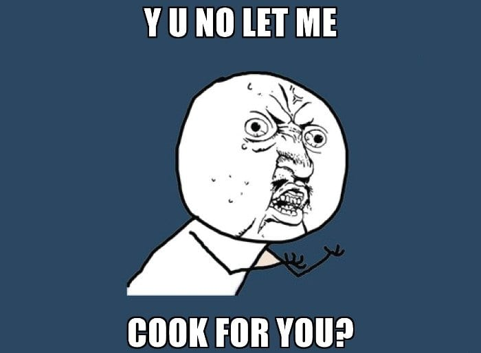 let me cook for you responsible teenager