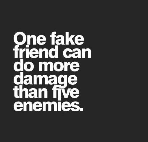 never befriend enemies