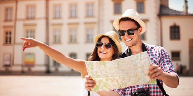 talk with tourists for budget travel