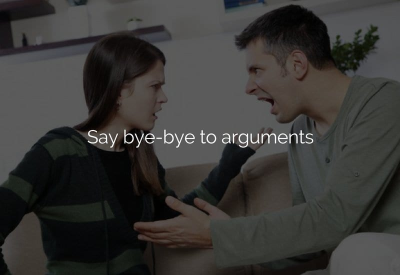dont argue relationship