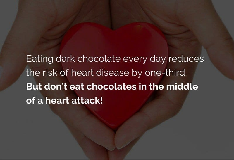 chocolate for heart diseases