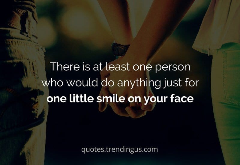 do anything for one smile