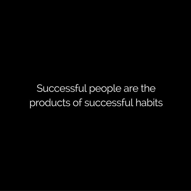secret of successful people