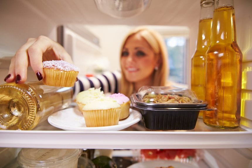 bad food in fridge for weight loss