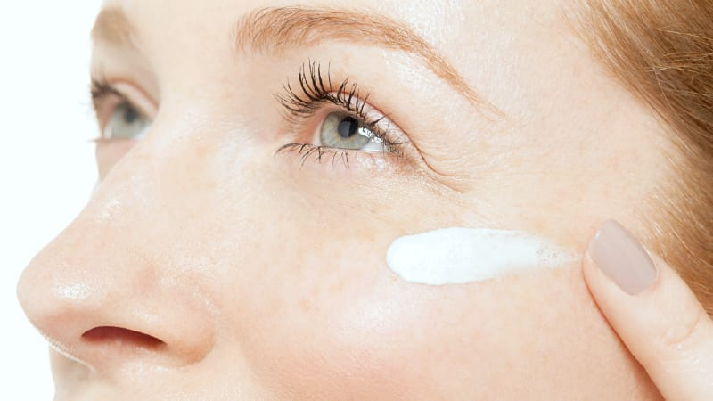 Use Eye Cream Perhaps the first wrinkles that we notice on our skin are placed just around our eyes. In order to keep the skin elastic and fresh you should also use under-eye or other types of eye creams to moisturize those parts of the face too. They also help to get rid of dark circles, which make you look older and exhausted. You can try one of the best night creams for wrinkles.