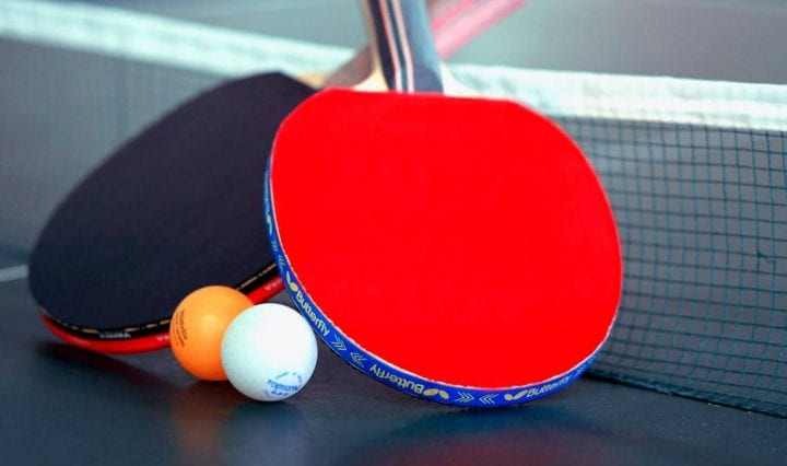 Table tennis weight loss
