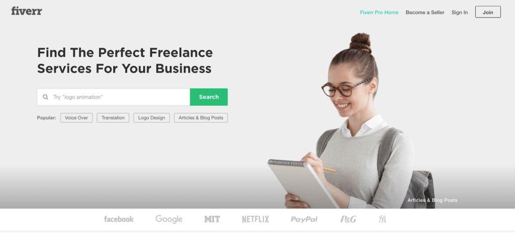 Fiverr.com Best Freelancing Websites In India