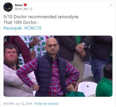 Disappointed Pakistani Fan