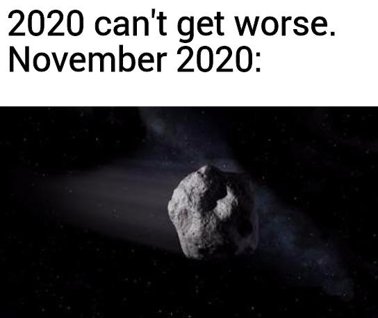 trending memes asteroid 2020 November