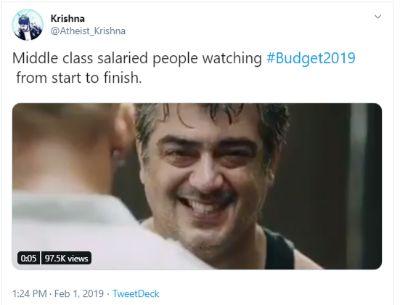 Budget 2019 Memes