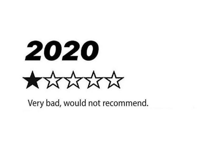 How Many Stars Would You Give To 2020