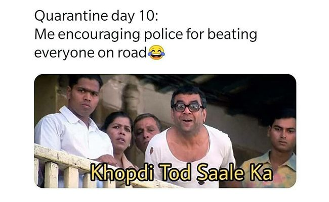 Lockdown/Quarantine Memes - baburav - Trending Memes In India