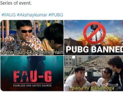 FAU-G memes