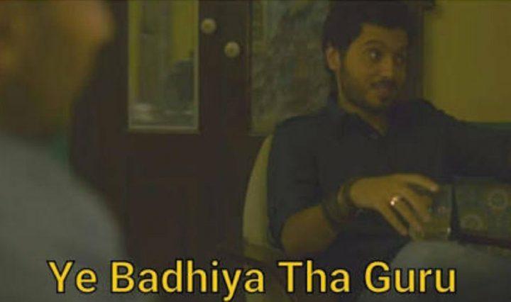 Ye Badhiya Tha Guru Meme