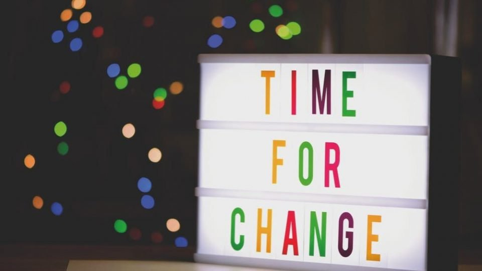 Time For Change - Be More Confident
