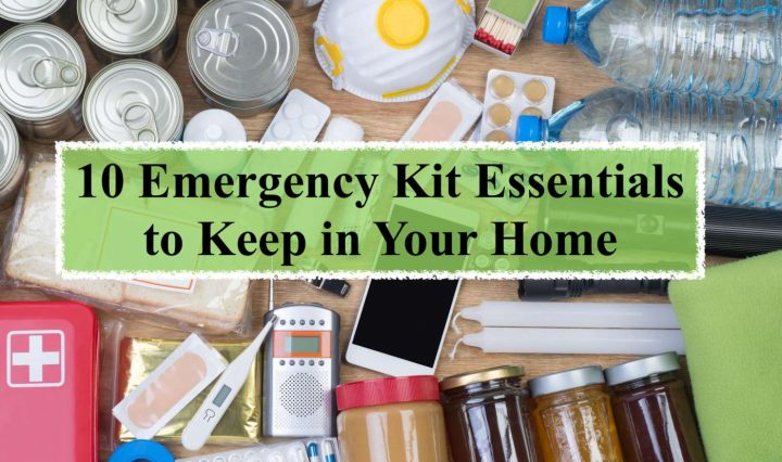 Emergency kit essential to keep in home