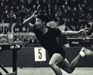 Li Fung-Jung Chinese Ping Pong Player- Inspiration TAble Tennis Quotes