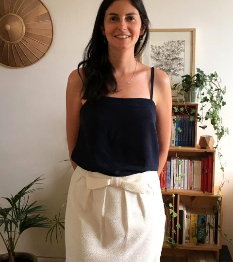 Simple Skirt with Camisole- Date idea Girls