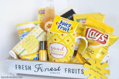 Sunshine Gift Basket Ideas