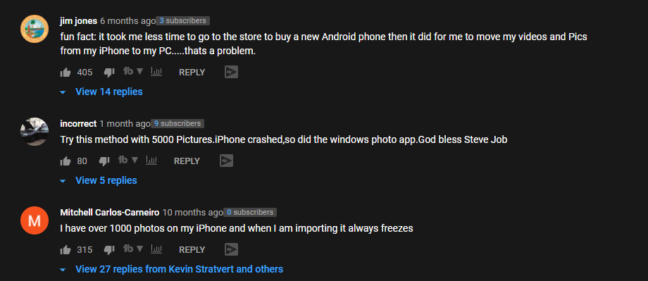 youtube comment transfer photos from iphone to mac kevin stratvert