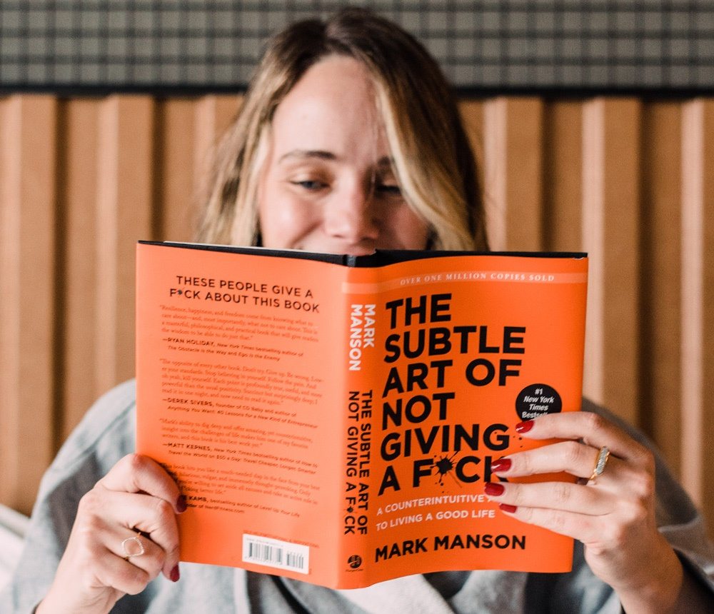 The Subtle Art of Not Giving a F*ck by Mark Manson2018 Reading List 1