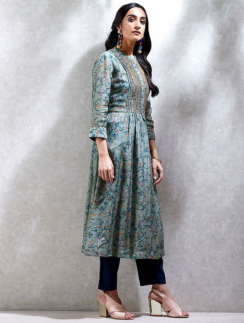 A Line Kurti With Extra Flare