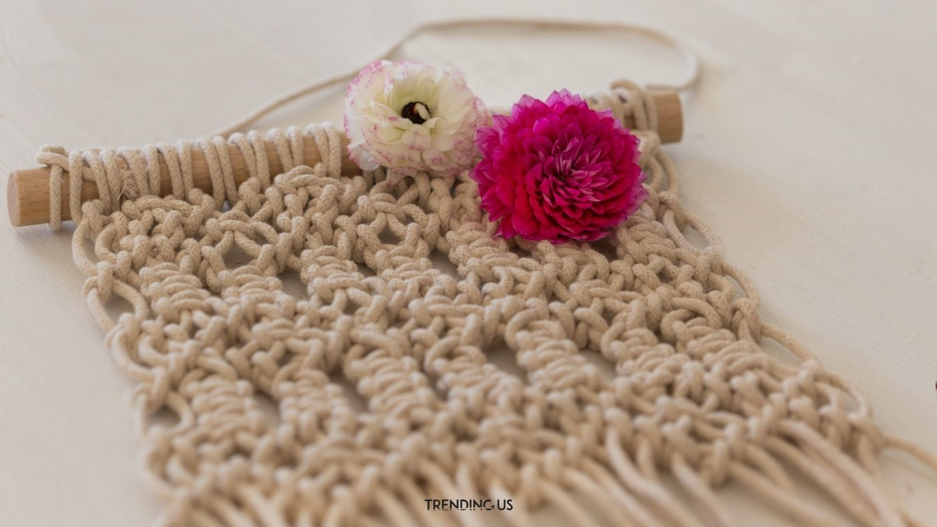 Macrame Art Trending Crafts For Adults