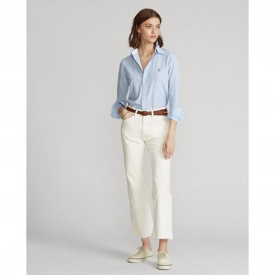 1 Striped Shirts With Solid Trousers