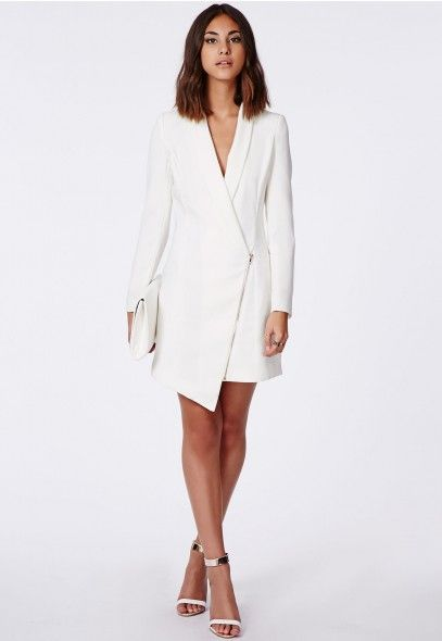 5 Belted Tuxedo Dresses And Blazer For Bossy Look