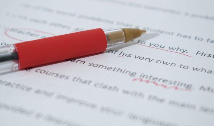 An Online Proofreader